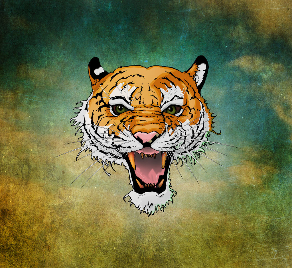Tiger... with whiskers.. dude