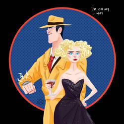 Dick Tracy by Lelpel