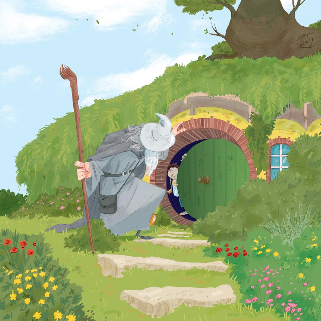Gandalf The Grey by Lelpel