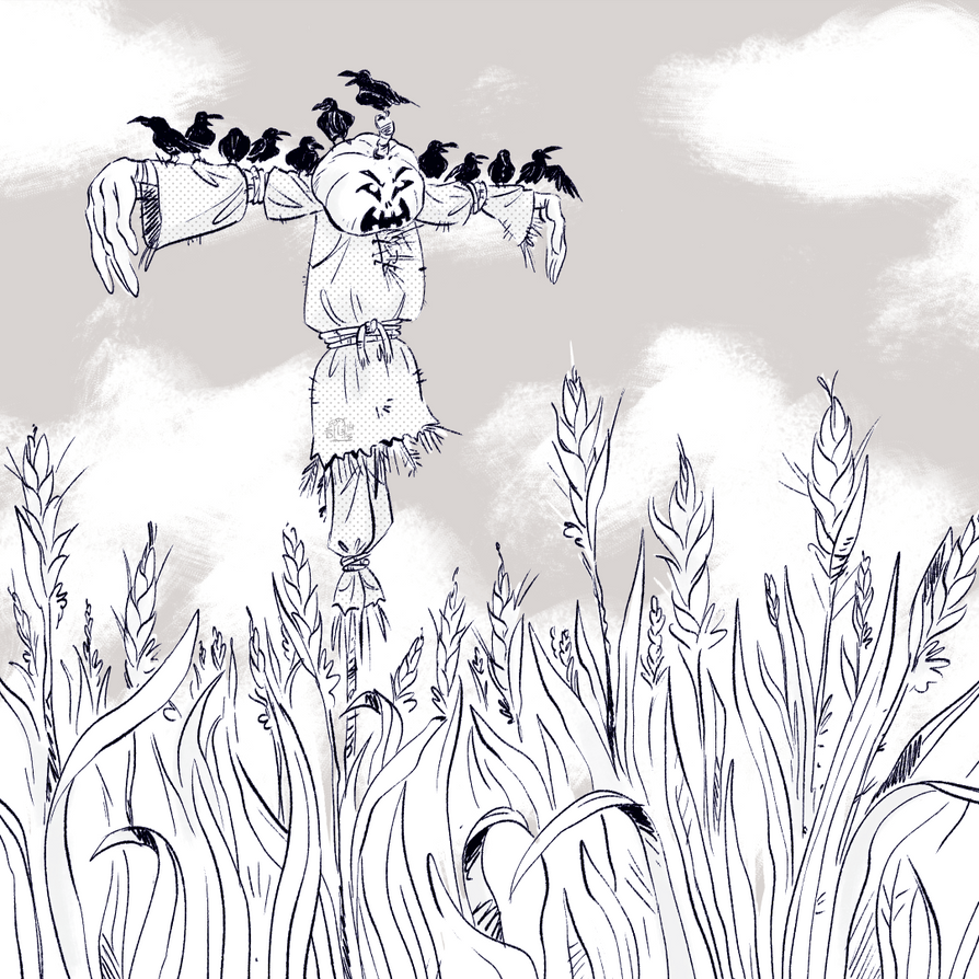 Scarecrow by Lelpel