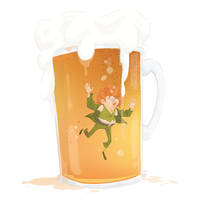 Bottom of your beer by Lelpel