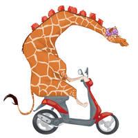 Giraffe by Lelpel