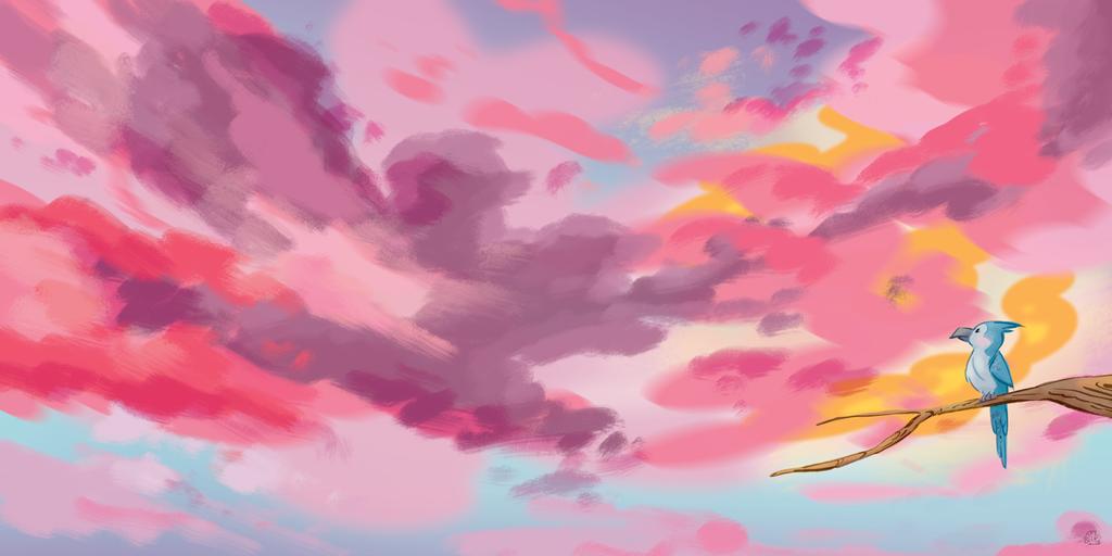 Big Sky by Lelpel
