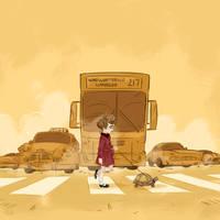 Walking the Turtle by Lelpel