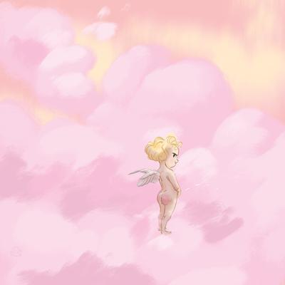 Cheeky cherub by Lelpel