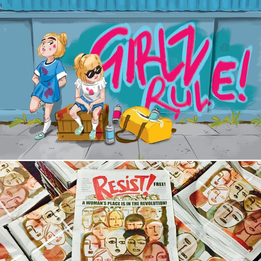 RESIST by Lelpel