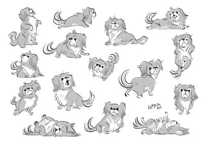 Pekingese by Lelpel