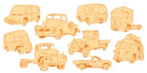Trucks by Lelpel