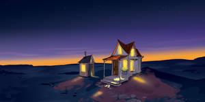 A quiet place  by Lelpel