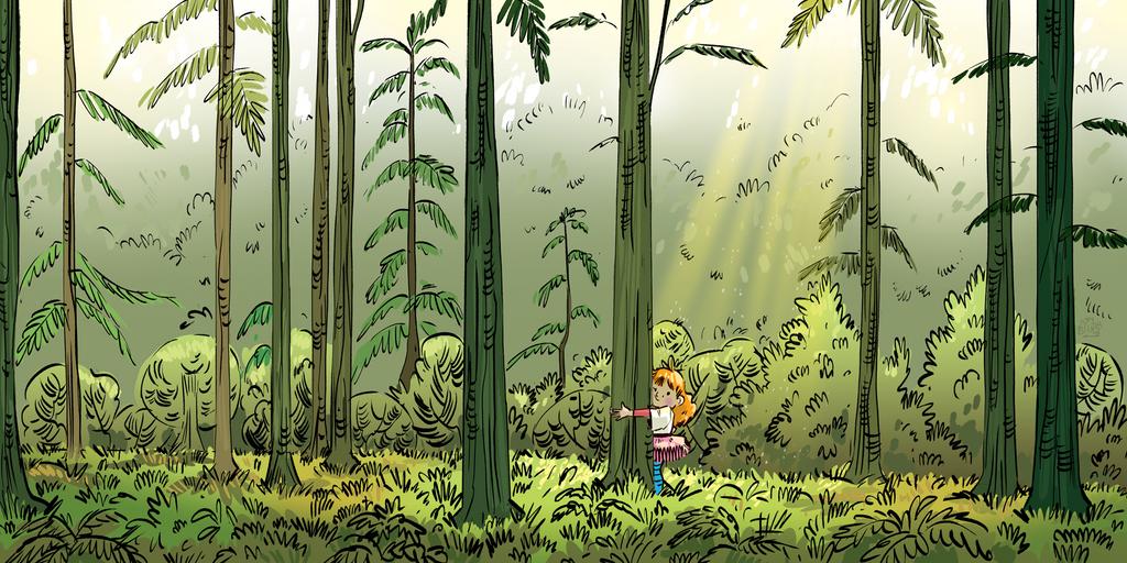 Tree hugger by Lelpel