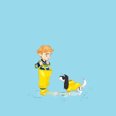 Going splashing by Lelpel