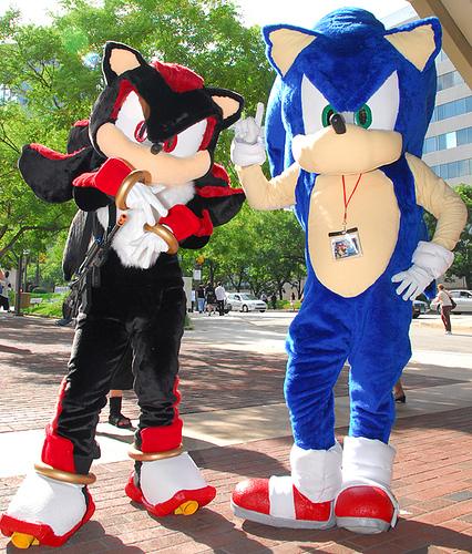 Sonic and Shadow cosplay by StormAkima ... & Sonic and Shadow cosplay by StormAkima on DeviantArt