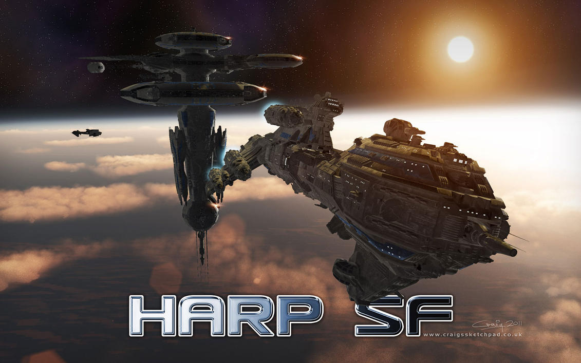 HARP SF Promo Wallpaper 2 by CraigJohn