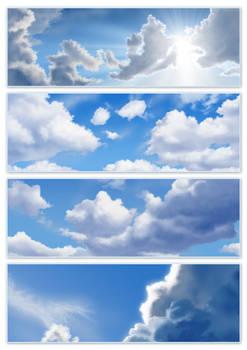 umm... clouds