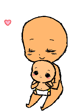 Chibi Mommy And Baby Base By Tamochi Chan On Deviantart