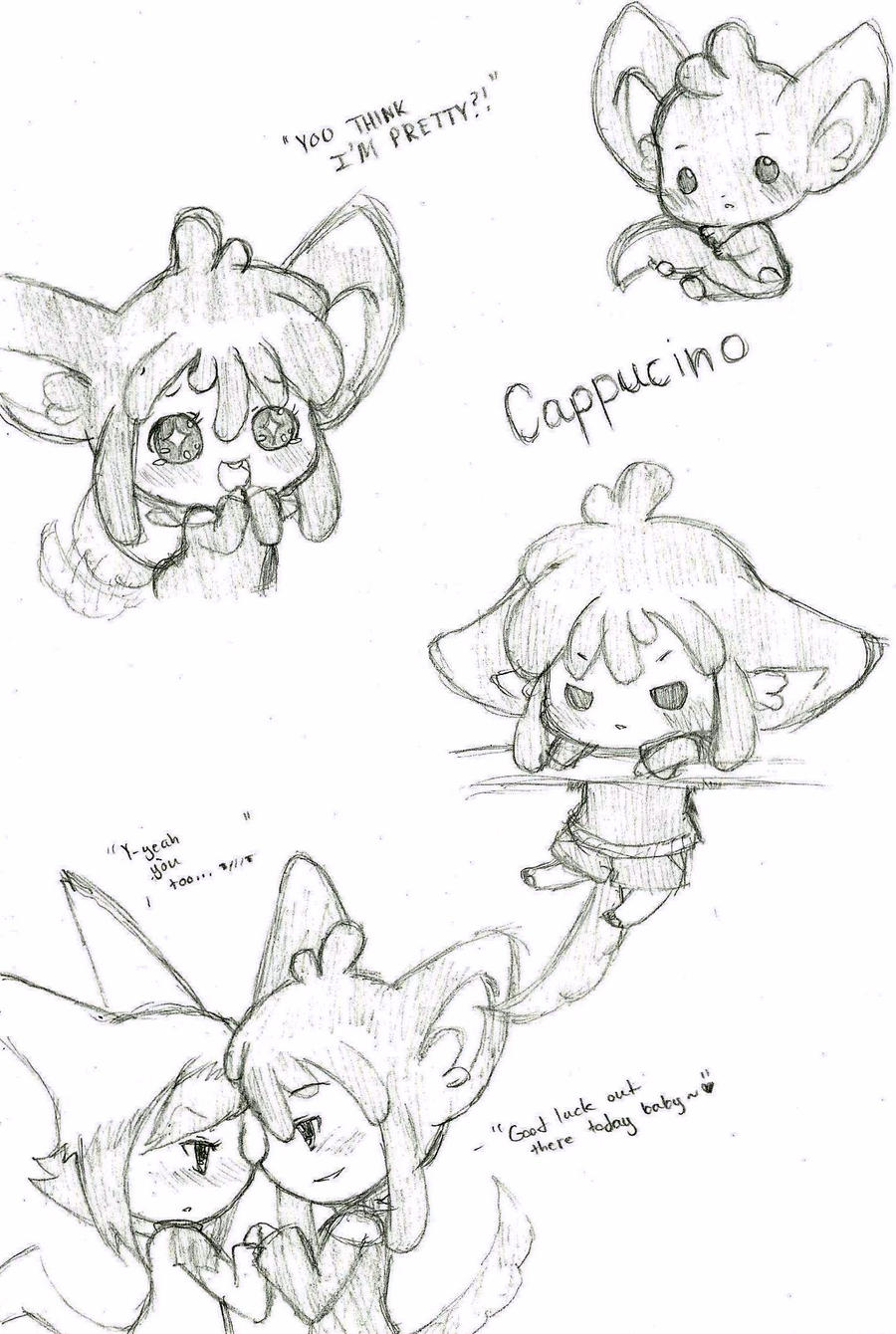 Cappucino Doodles by Tamochi-Chan