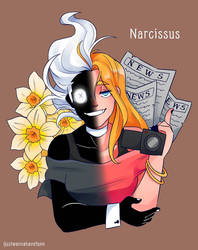 Narcissus by ijustwannahavefunn