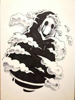 Inktober 2 : mist/fog