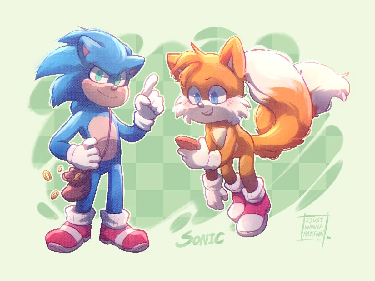 Sonic The Movie By Ijustwannahavefunn On Deviantart