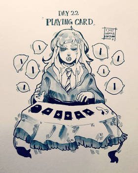 Day 22: Playing card