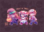 Trick or treat! (Fake collab)