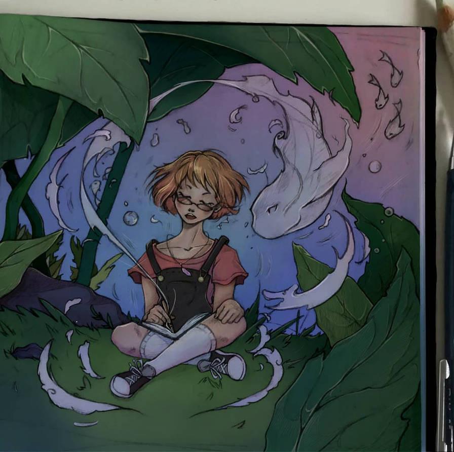 Underwater girl ~ by Starlight-waltz