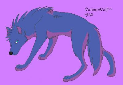 Vulcanwolf by AshleyWulf