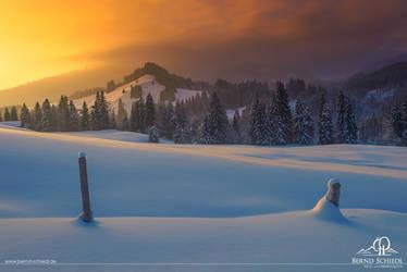 Sundown over the Valley