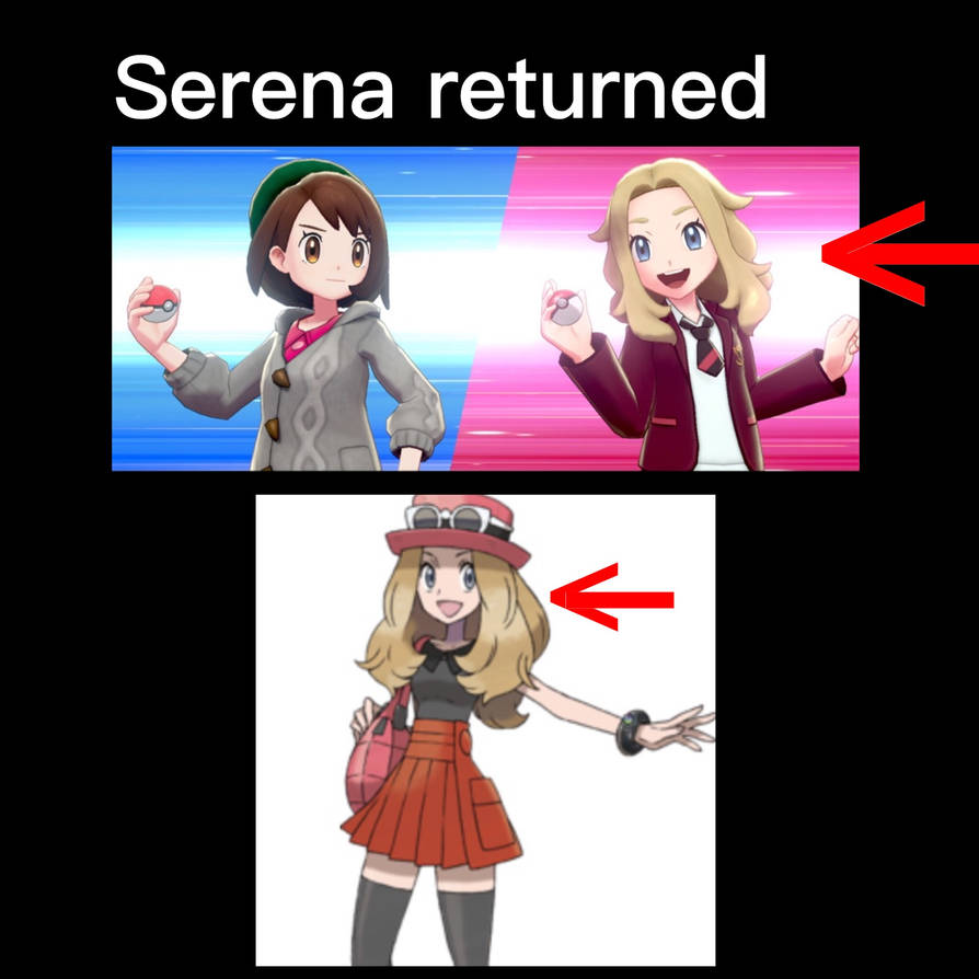 Pokemon Sword And Shield Serena Returned By Flamepuptheeeveeguy On