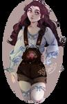 Cottagecore girl 3 by PlusVanity