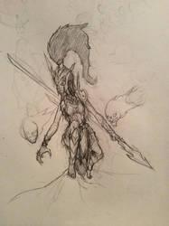 Kalista, the spear of vengeance by flyingjr688