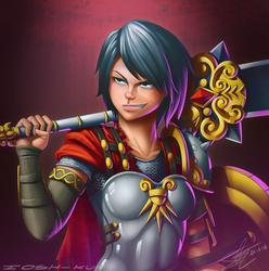 Bellona Roman goddess of war! by ioshkun