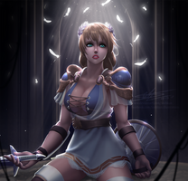 SOUL CALIBUR - Sophitia  by ioshkun