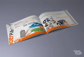 brochure leader by rachidbenour
