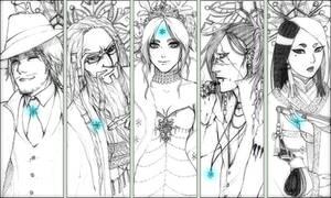 LF : Vatna with her Guardians by Kamidoudou