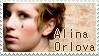 Alina Orlova Stamp by Kamidoudou