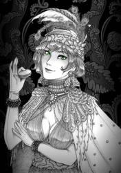 Portrait : Callie by Kamidoudou