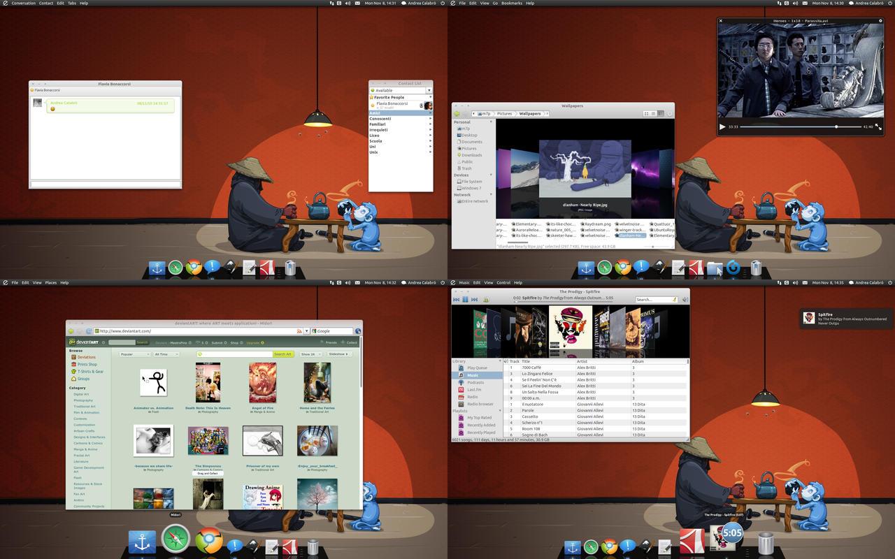 My Desktop - Novembre by MastroPino