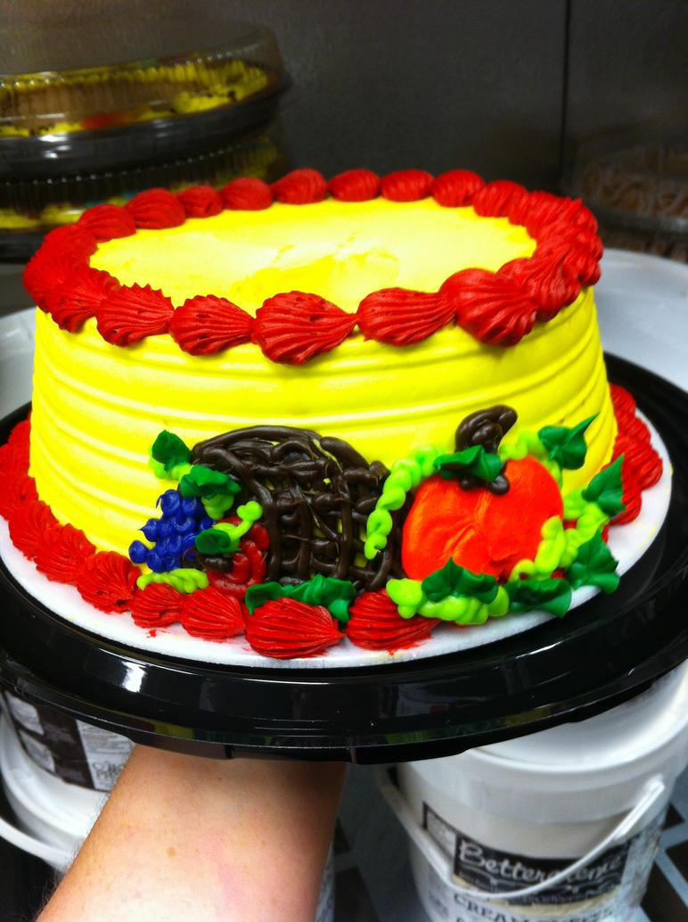 Cornucopia Cake by TheYellowHobbit
