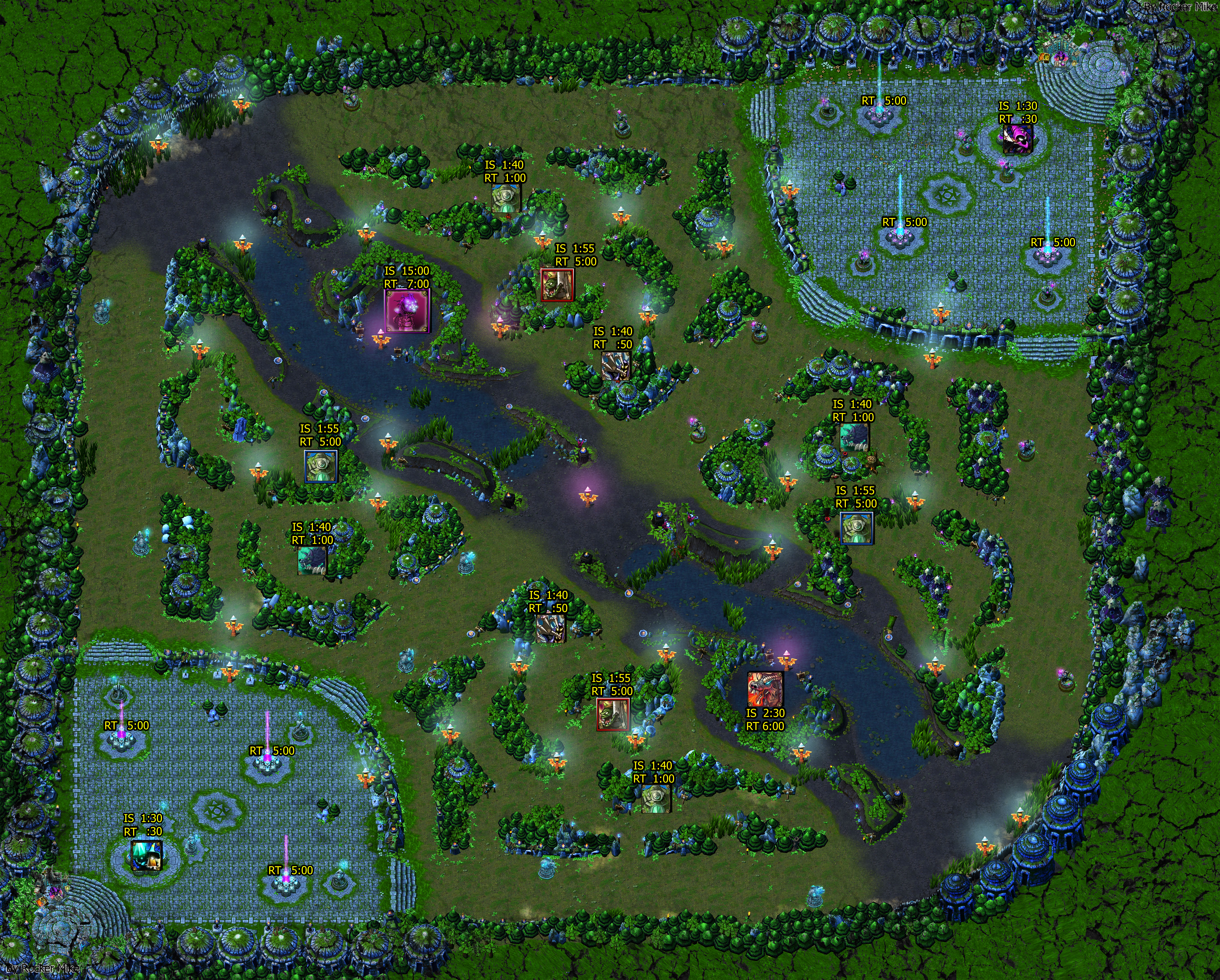 summoner s rift warding and spawn timers by rockermike on deviantart