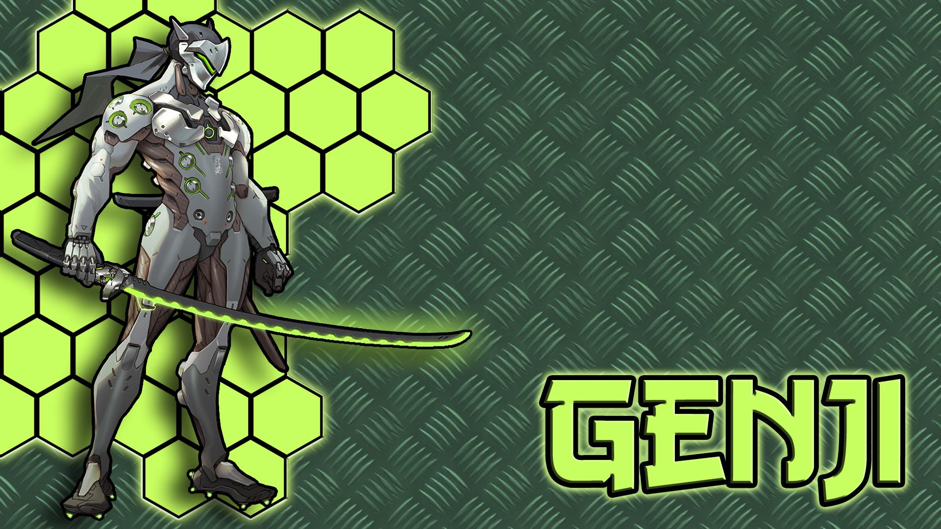 Genji Overwatch Wallpaper Version 2 By Cyracen On DeviantArt