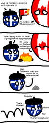 Quebec gets independence by StrayberryFilling