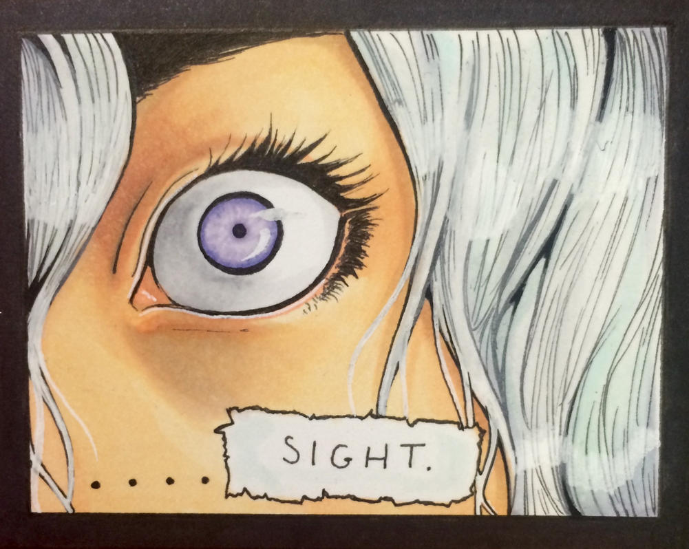 Eyes of Empathy Panel Sample 1 by Yavanni