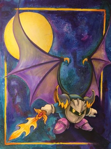 Meta Knight Speed Paint by Yavanni