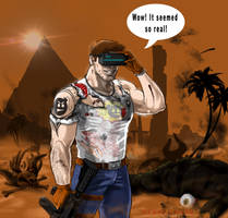 Serious sam and the vr experience by ArdathLilitu