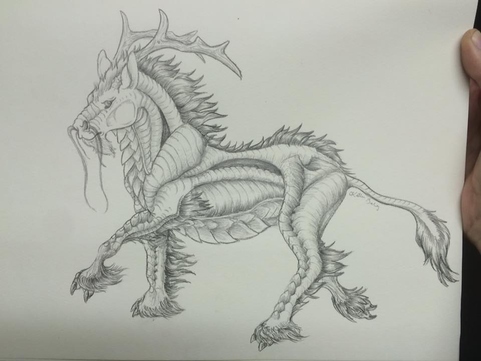 Kirin by DemonWolf121