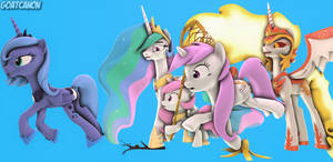 'You Have To Chase An Alicorn On The Run!'