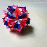 Modular Origami (Etna Kusudama) 2
