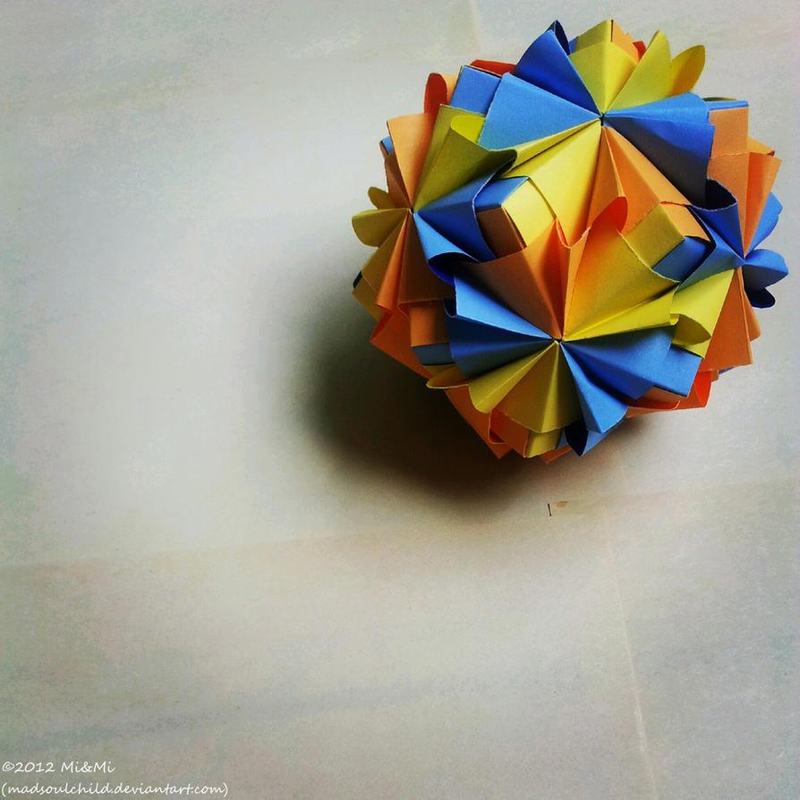 Modular Origami (Waltz Sonobe) 2 by MadSoulChild