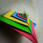 Modular Origami (Spiral) 2 by MadSoulChild